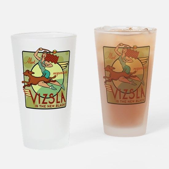 Vizsla Two Drinking Glass