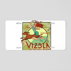 Vizsla Two Aluminum License Plate