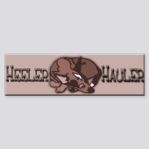 Heeler Hauler - Red - Sticker (Bumper)