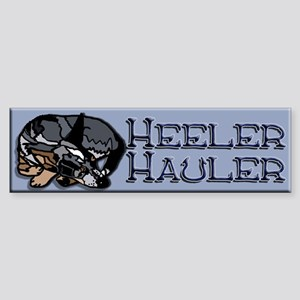 Heeler Hauler - Blue - Sticker (Bumper)