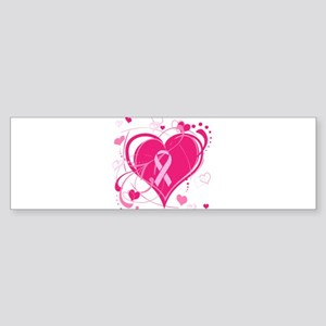 Run With Heart Sticker (Bumper)