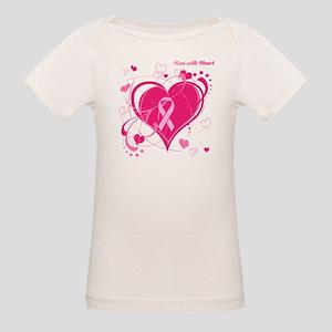 Run With Heart Organic Baby T-Shirt