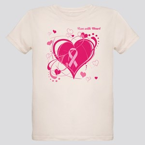 Run With Heart Organic Kids T-Shirt