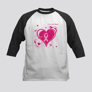 Run With Heart Kids Baseball Jersey