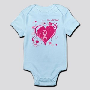 Run With Heart Infant Bodysuit