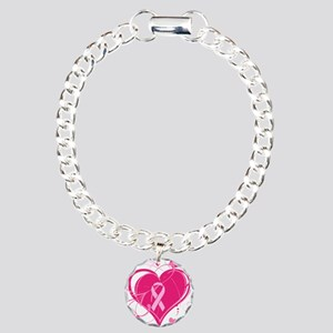 Run With Heart Charm Bracelet, One Charm