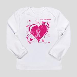 Run With Heart Long Sleeve Infant T-Shirt