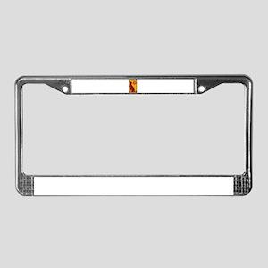 Vizsla One License Plate Frame