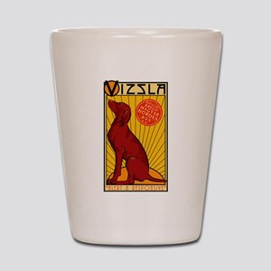 Vizsla One Shot Glass