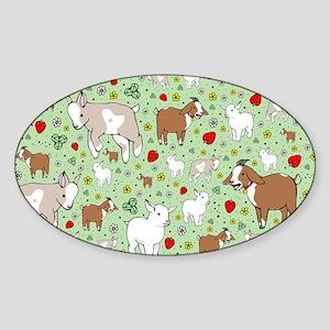 Goats Sticker