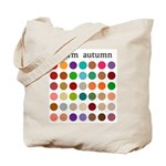 color analysis Tote Bag warm autumn