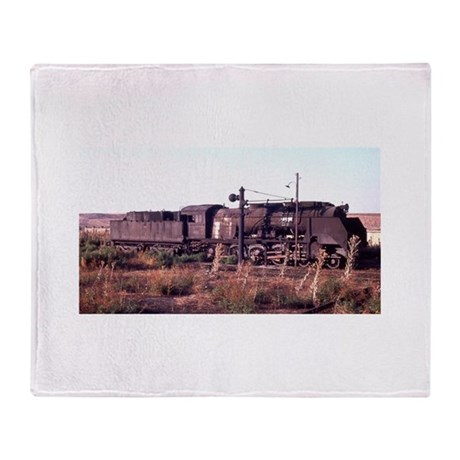The Old Engine Throw Blanket