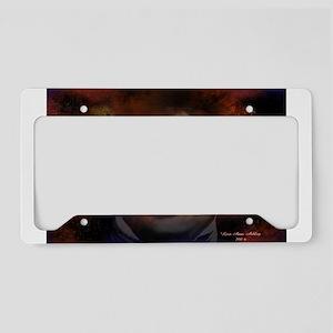 Edgar Allan Poe License Plate Holder