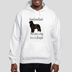 Newfoundlands It's A Lifestly Hooded Sweatshirt
