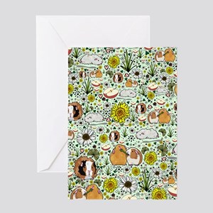 Guinea Pigs Greeting Cards