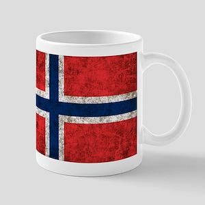 Norway Grunge Mug