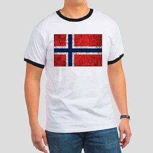 Norway Grunge Ringer T