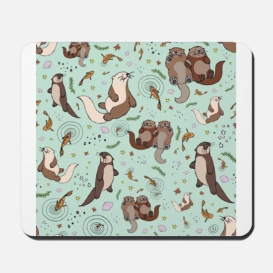 Otters Mousepad