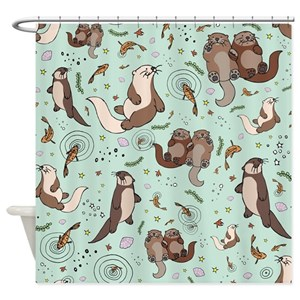Otter Shower Curtains