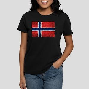 Norway Grunge Women's Dark T-Shirt