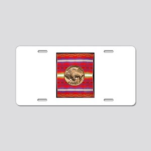 Indian Design-03a Aluminum License Plate