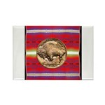 Indian Design-03a Rectangle Magnet (10 pack)