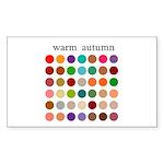 color analysis Sticker warm autumn