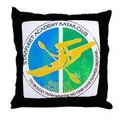 Starfleet Academy Kayak Club Throw Pillow