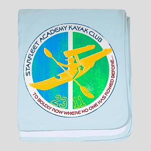 Starfleet Academy Kayak Club baby blanket