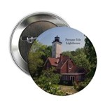"Presque Isle Lighthouse Pa 2.25"" Button"
