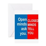 Open Mind Greeting Card