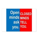 Open Mind Postcards (Package of 8)