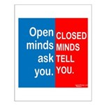 Open Mind Small Poster