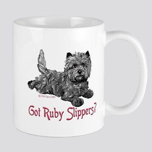 Cairn Terrier Ruby Slippers Mug