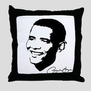 OBAMA SHOPS: Throw Pillow