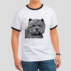 Cairn Terrier Toto Face Ringer T