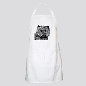 Cairn Terrier Toto Face Apron