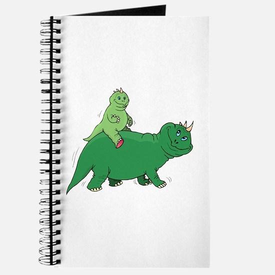 Piggyback Dinosaur Journal