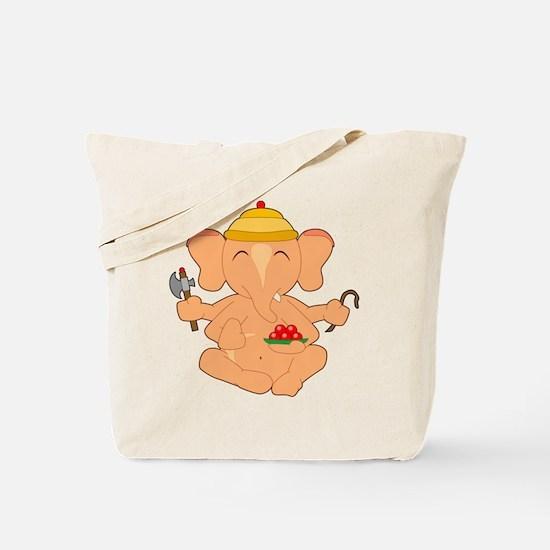 Cute Ganesa Tote Bag