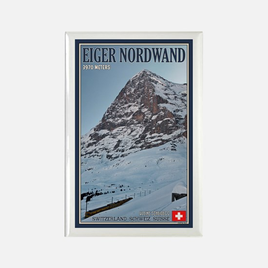 The Eiger and Train Rectangle Magnet