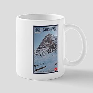 The Eiger and Train Mug