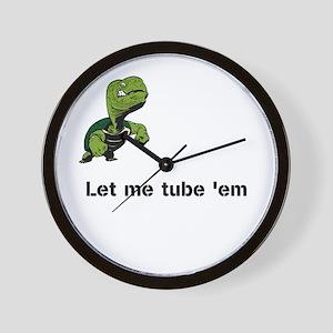 Turtle Tube Wall Clock