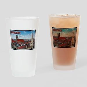 Munich Cityscape Drinking Glass