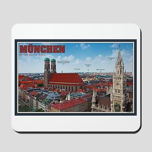 Munich Cityscape Mousepad