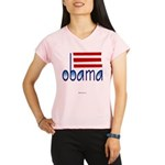 obama blue Performance Dry T-Shirt