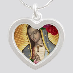 Virgin of Guadalupe with Roses Necklaces