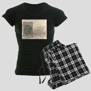 Bacon Atheism Women's Dark Pajamas