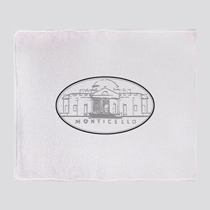 Monticello Throw Blanket