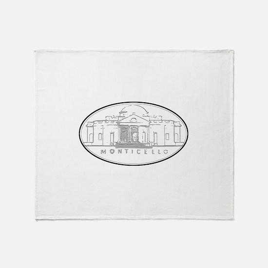 Monticello Throw Blanket