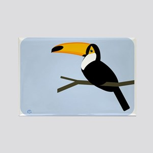 Toucan Rectangle Magnet